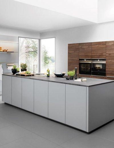 cocina gris Zaragoza