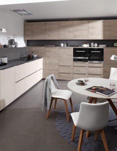cocina blanco y negro Zaragoza