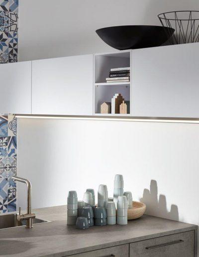 cocina blanca azulejos Zaragoza