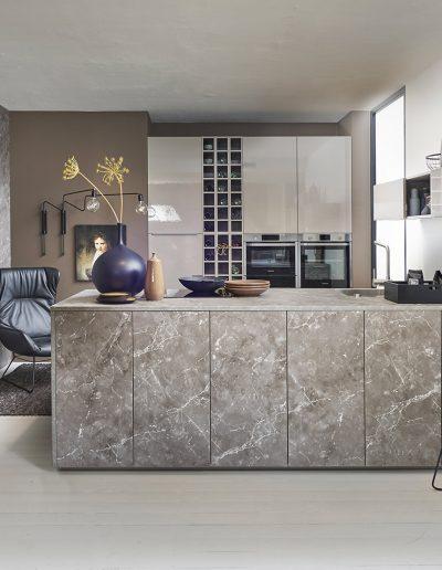 Koje 20 Lux - Lava HG / Manhattan - Marmor grau
