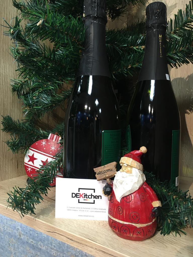 Navidad Papa Noel en cocinas