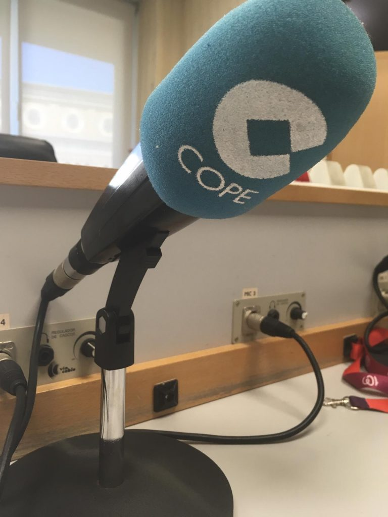 entrevista Cope cocinas Zaragoza