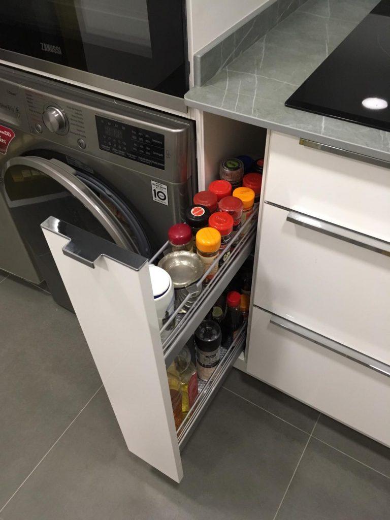 espacios en la cocina