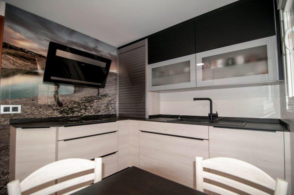 cocina cuadrada diseño DEK