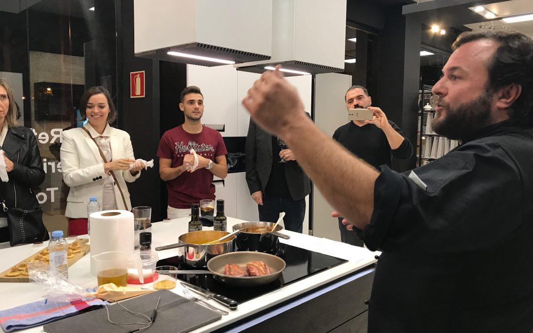 ¡Presentación en vivo Nolte – AEG en nuestras cocinas alemanas!