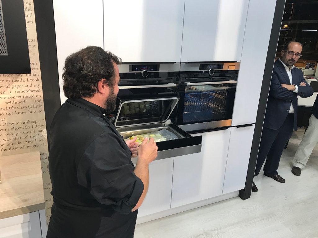 cocina en vivo Zaragoza Nolte