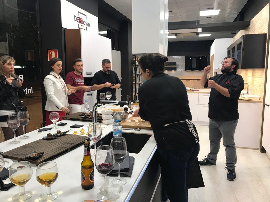 cocina en vivo Zaragoza