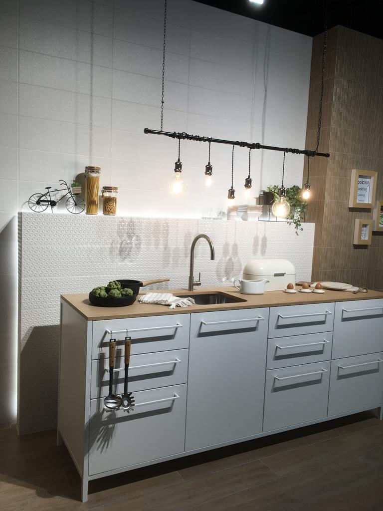 cocina blanca madera DEKitchen