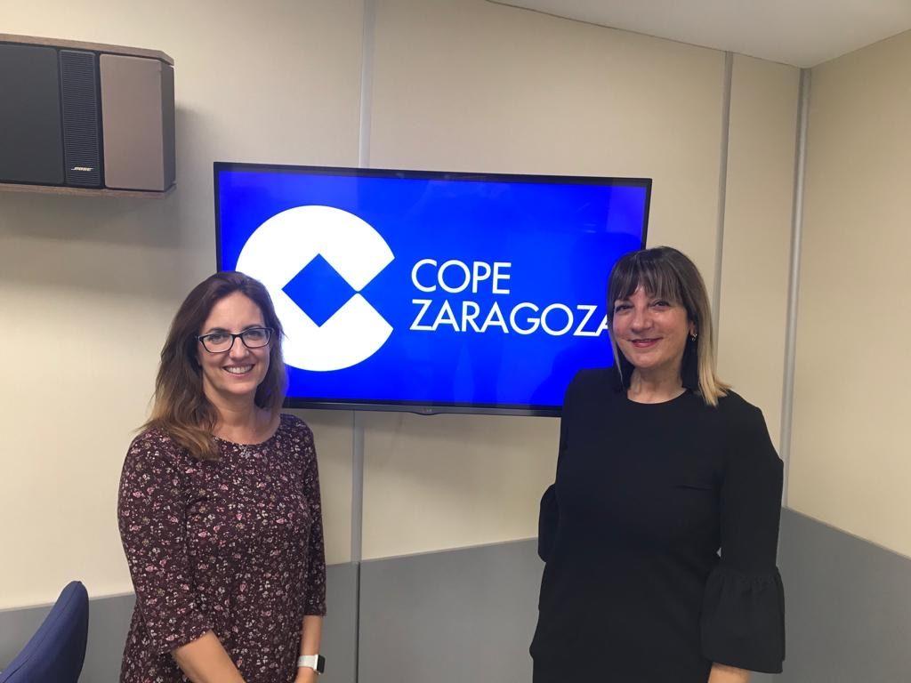 Asun Berbegal COPE Zaragoza Encimeras