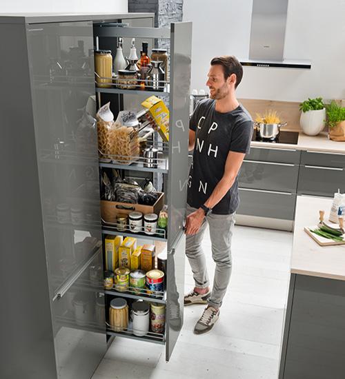 mueble de cocina extraíble