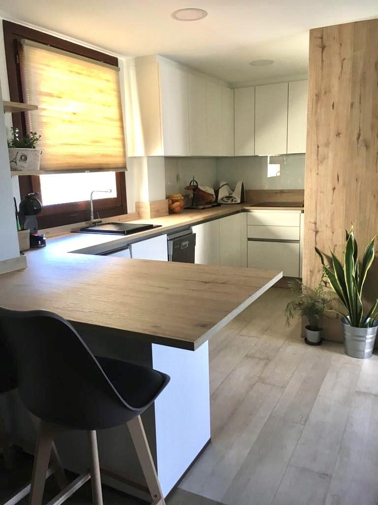 cocina abierta al salón estructuras DEKitchen
