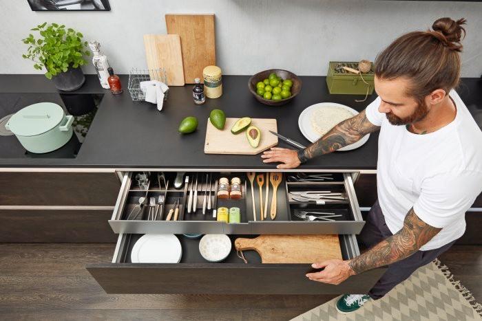 espacio de regalo en cocinas