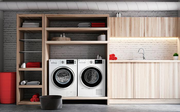 cuarto de lavado diseño cocinas alemanas Zaragoza