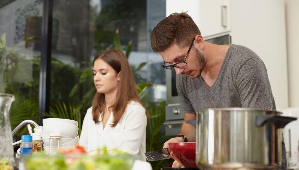 roles en las cocinas